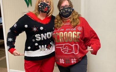 Ugly Sweater Day- Take 2